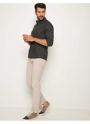 Pierre Cardin Slim Fit Uzun Kollu Gömlek Siyah